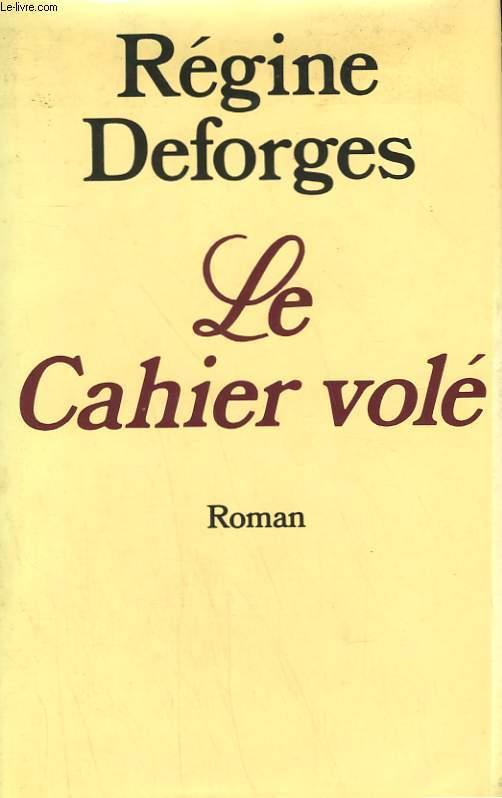 LE CAHIER VOLE.