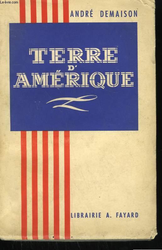 TERRE D'AMERIQUE.