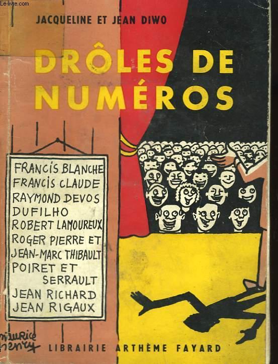 DROLES DE NUMEROS.