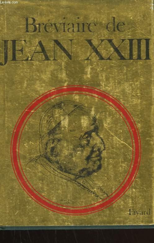 BREVIAIRE DE JEAN XXIII.