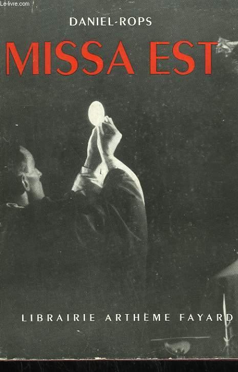 MISSA EST.