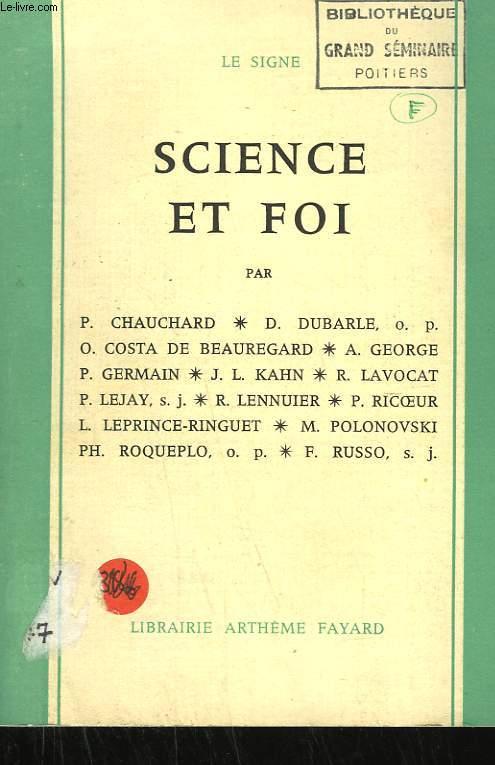 SCIENCE ET FOI.