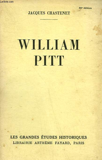 WILLIAM PITT.