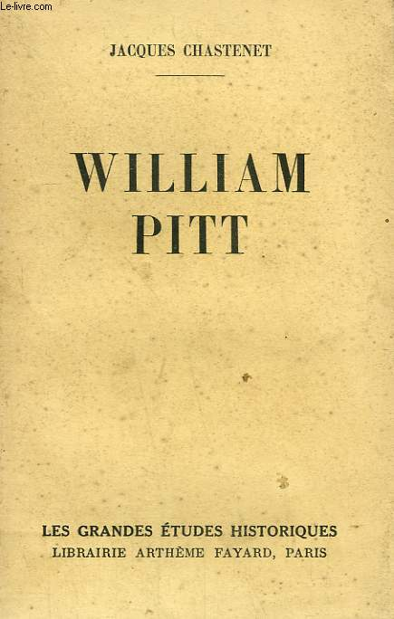 WILLIAM PITT.
