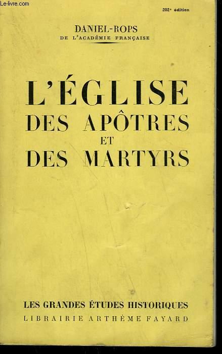 L'EGLISE DES APOTRES ET DES MARTYRS.