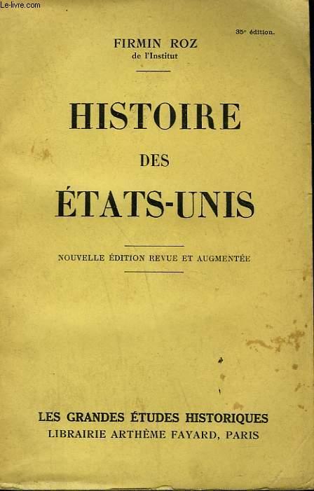 HISTOIRE DES ETATS-UNIS.