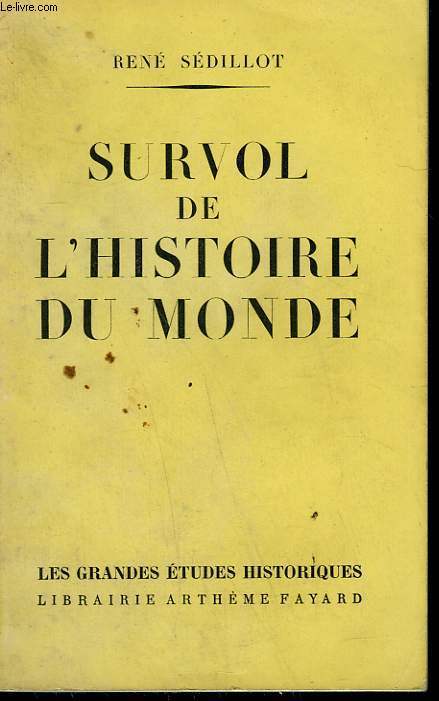 SURVOL DE L'HISTOIRE DU MONDE.