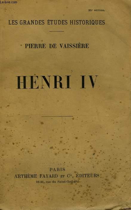 HENRI IV.