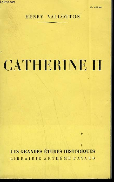 CATHERINE II.
