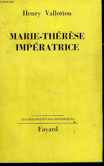 MARIE-THERESE IMPERATRICE.