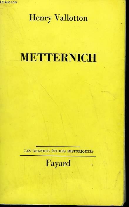 METTERNICH.