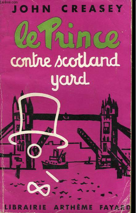 LE PRINCE CONTRE SCOTLAND YARD N° 5. (Accuse the toff).