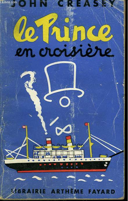 LE PRINCE EN CROISIERE N°6. (The toff on board).