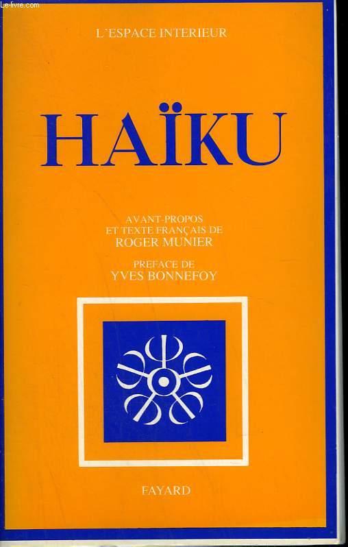 HAIKU. DOCUMENTS SPIRITUELS TOME  15