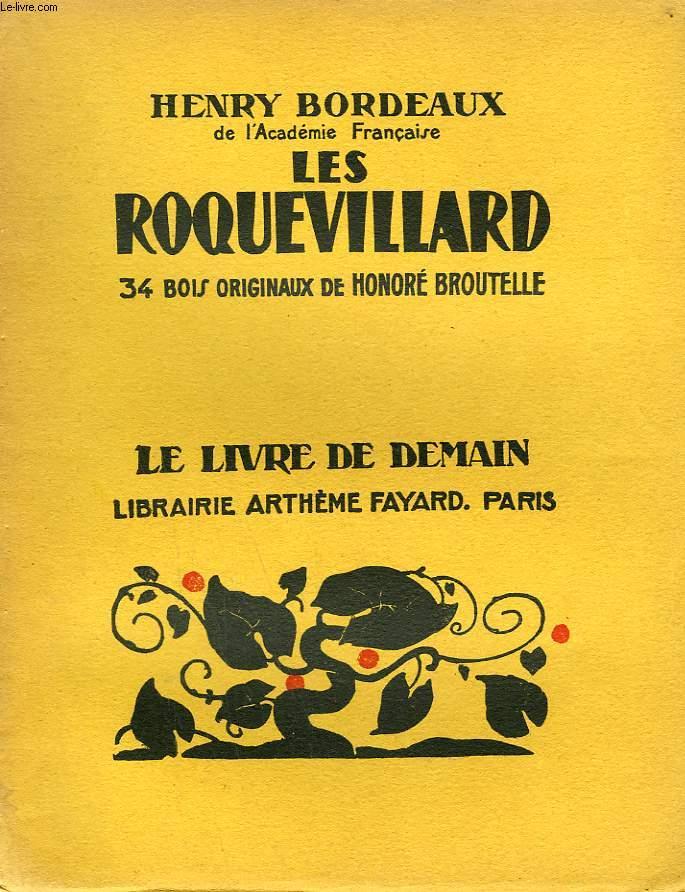 LES ROQUEVILLARD. 34 BOIS ORIGINAUX DE HONORE BROUTELLE. LE LIVRE DE DEMAIN N° 72.