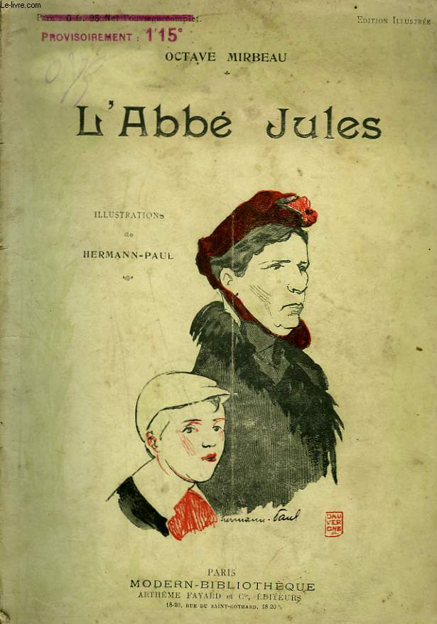 L'ABBE JULES. COLLECTION MODERN BIBLIOTHEQUE.