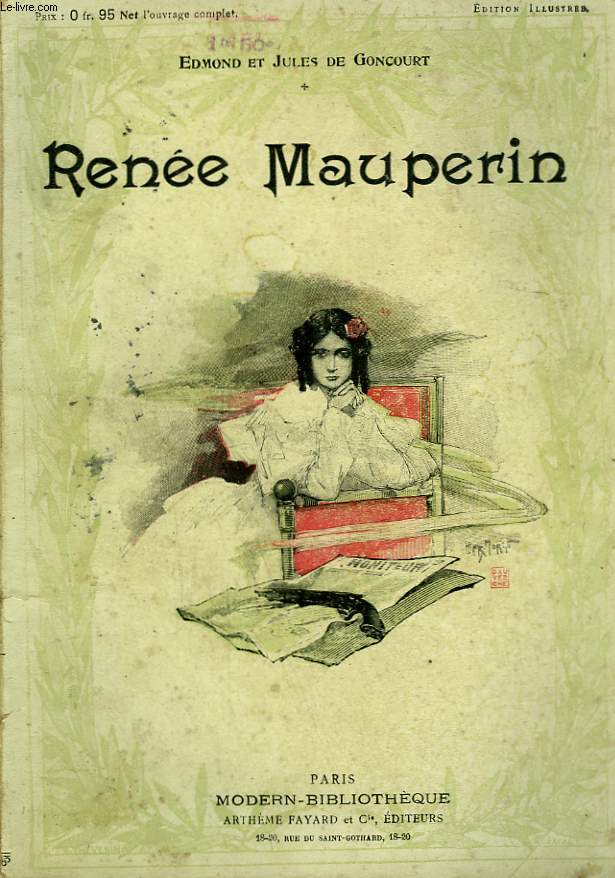 RENEE MAUPERIN. COLLECTION MODERN BIBLIOTHEQUE.