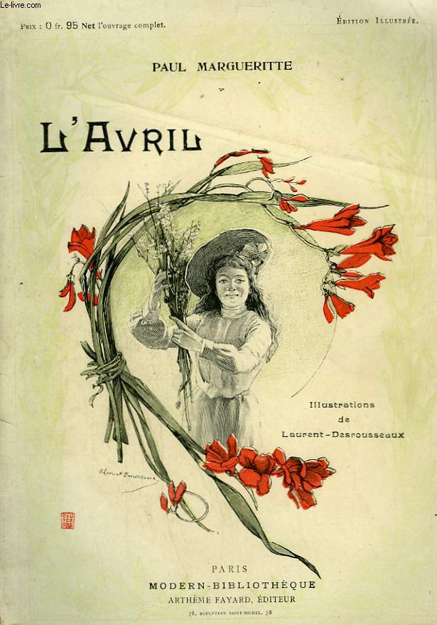 L'AVRIL . LA CONFESSION POSTHUME. COLLECTION MODERN BIBLIOTHEQUE.