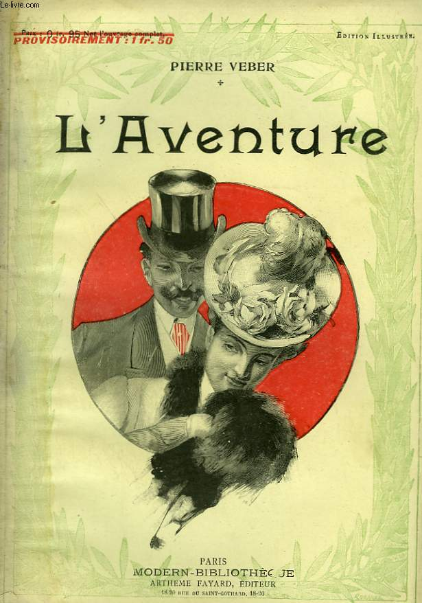 L'AVENTURE. COLLECTION MODERN BIBLIOTHEQUE.