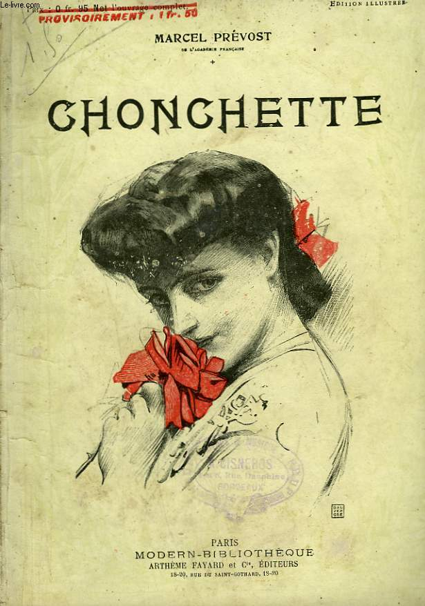 CHONCHETTE. COLLECTION MODERN BIBLIOTHEQUE.
