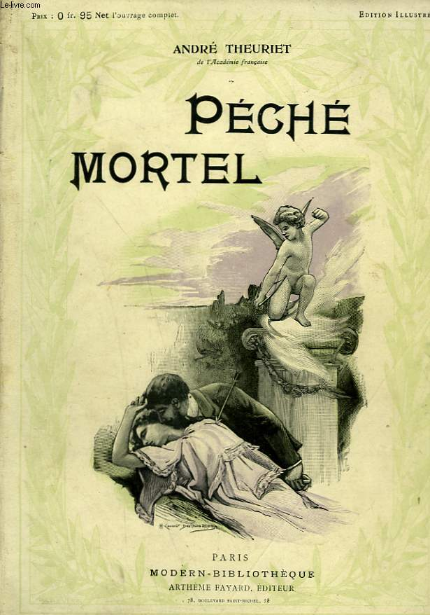 PECHE MORTEL. COLLECTION MODERN BIBLIOTHEQUE.