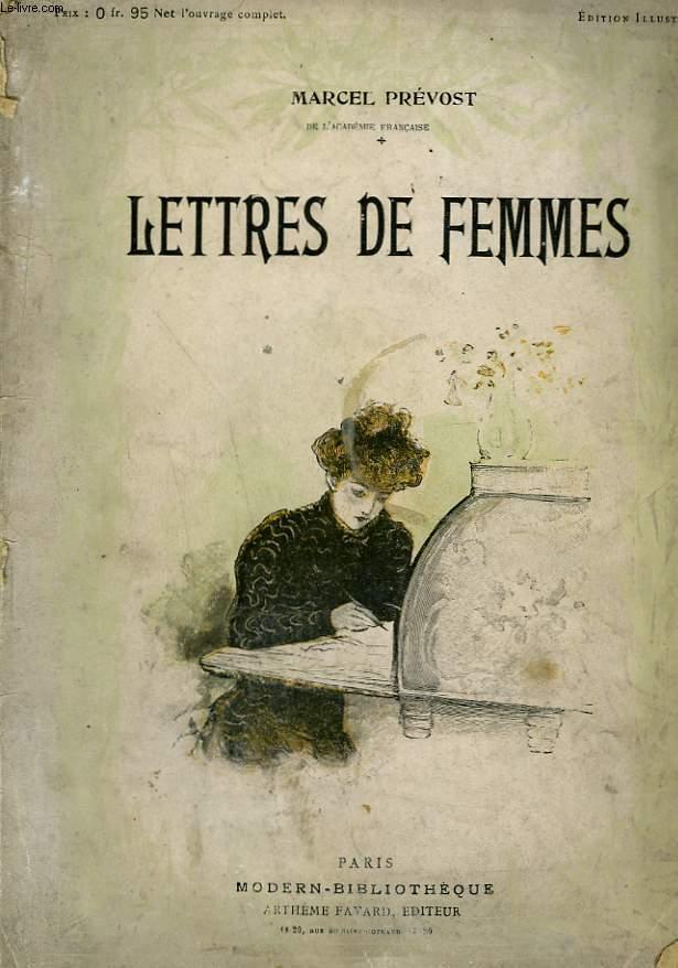 LETTRES DE FEMMES. COLLECTION MODERN BIBLIOTHEQUE.