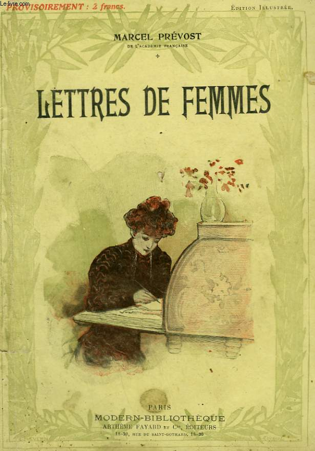 LETTRES DE FEMMES. COLLECTION MODERN BIBLIOTHEQUE.