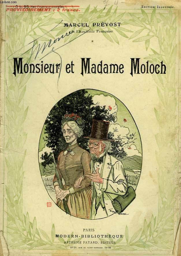 MONSIEUR ET MADAME MOLOCH. COLLECTION MODERN BIBLIOTHEQUE.