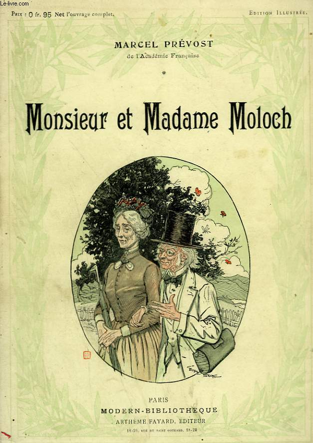 MONSIEUR ET MADAME MOLOCH. COLLECTION MODERN BIBLIOTHEQUE.