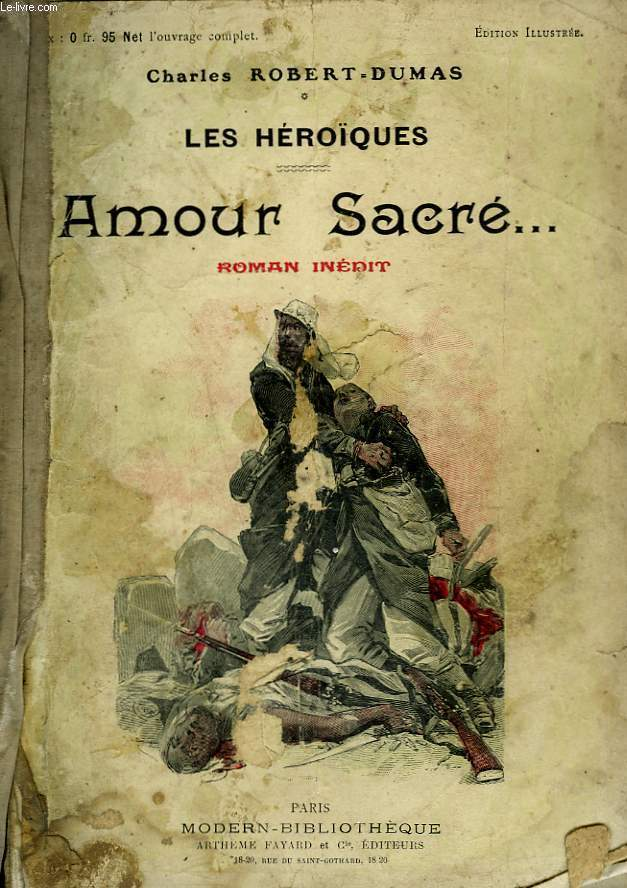 AMOUR SACRE. COLLECTION MODERN BIBLIOTHEQUE.