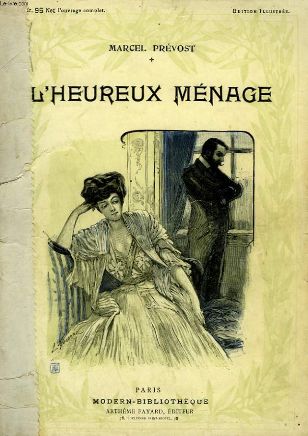 L'HEUREUX MENAGE. COLLECTION MODERN BIBLIOTHEQUE.