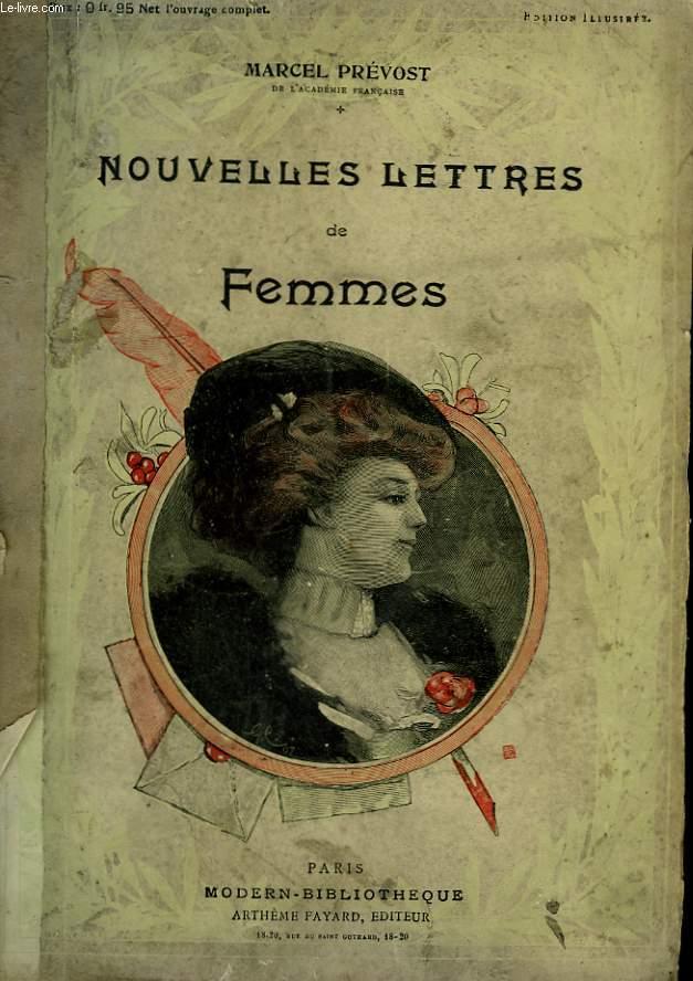 NOUVELLES LETTRES DE FEMMES.  COLLECTION MODERN BIBLIOTHEQUE.