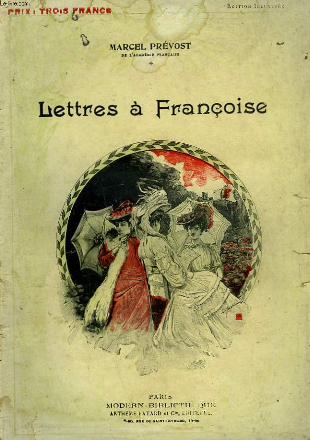 LETTRES A FRANCOISE. COLLECTION MODERN BIBLIOTHEQUE.