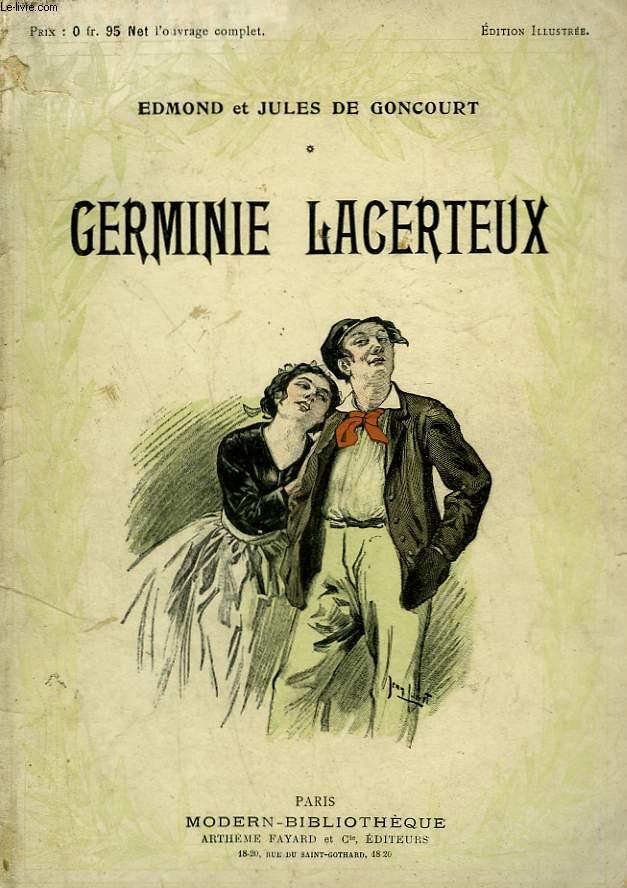 GERMINE LACERTEUX. COLLECTION MODERN BIBLIOTHEQUE.