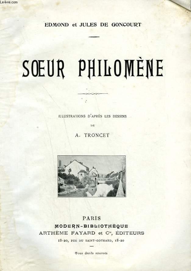 SOEUR PHILOMENE. COLLECTION MODERN BIBLIOTHEQUE.