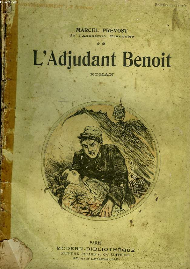 L'ADJUDANT BENOIT. COLLECTION MODERN BIBLIOTHEQUE.