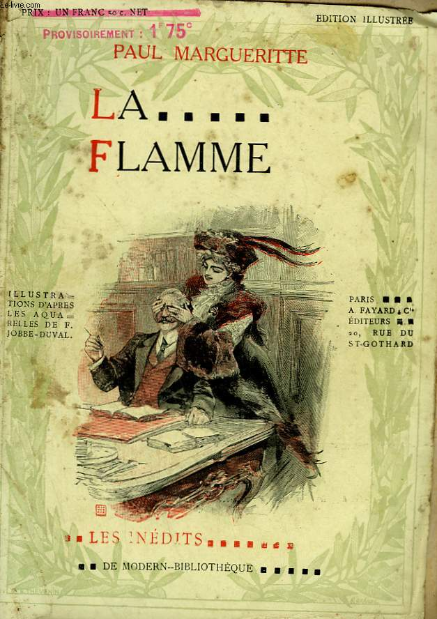 LA FLAMME. COLLECTION MODERN BIBLIOTHEQUE.