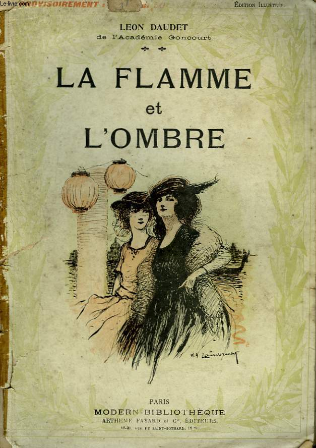 LA FLAMME ET L'OMBRE. COLLECTION MODERN BIBLIOTHEQUE.