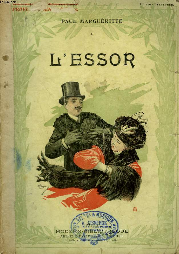 L'ESSOR. COLLECTION MODERN BIBLIOTHEQUE.