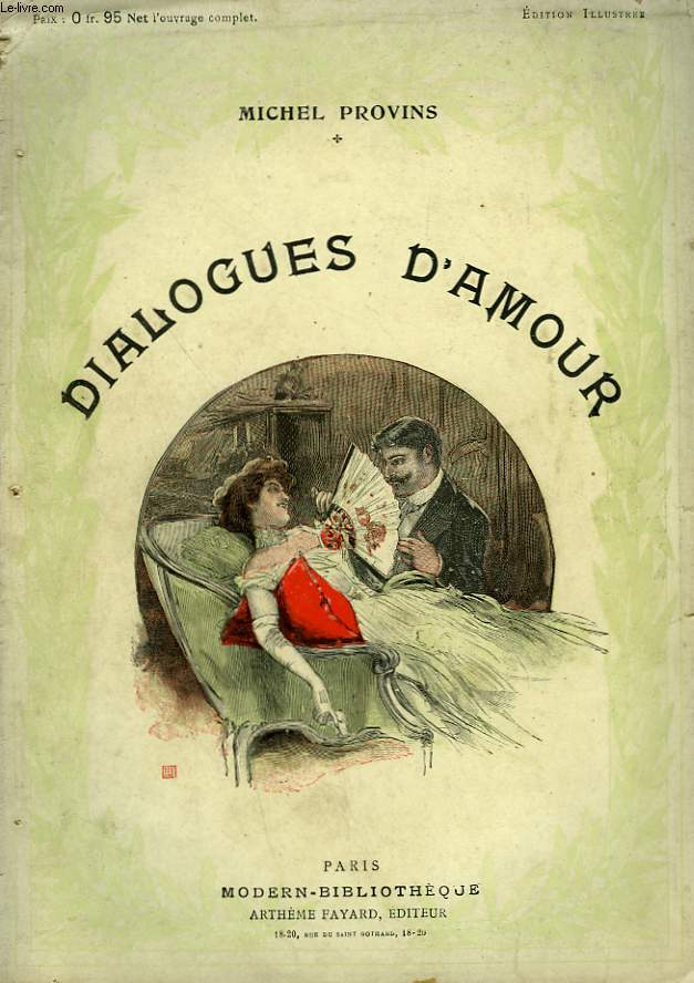 DIALOGUES D'AMOUR. COLLECTION MODERN BIBLIOTHEQUE.