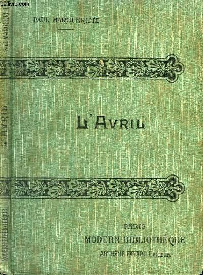 L'AVRIL. LA CONFESSION POSTHUME.