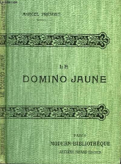 LE DOMINO JAUNE.