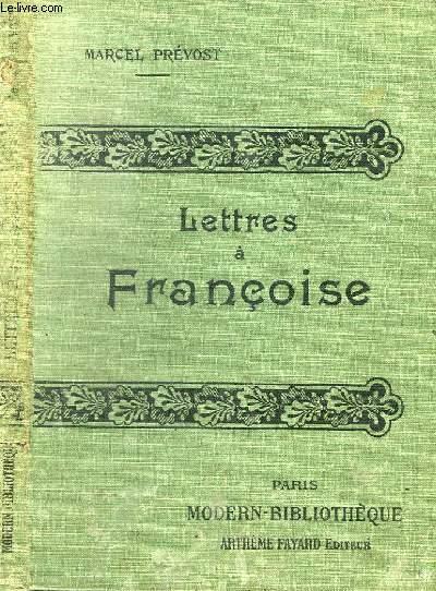 LETTRES A FRANCOISE.
