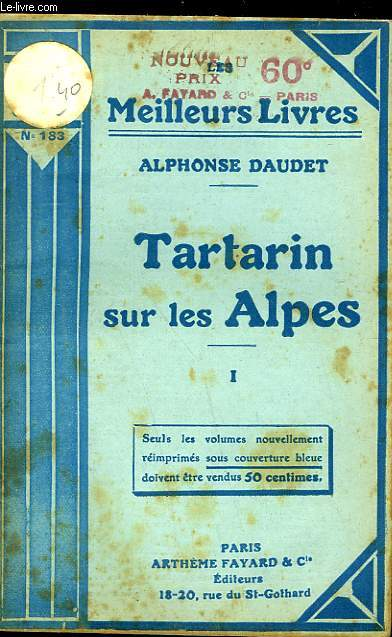 TARTARIN SUR LES ALPES - TOME 1