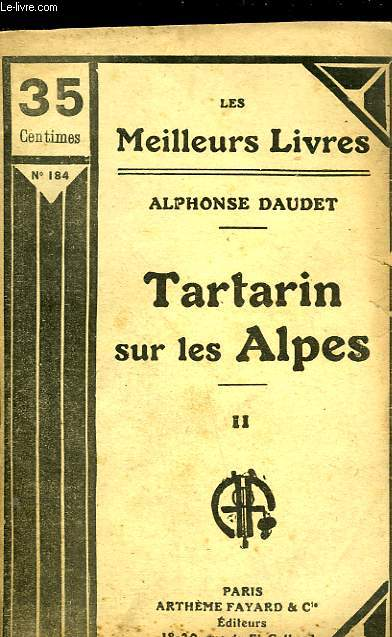 TARTARIN SUR LES ALPES - TOME 2