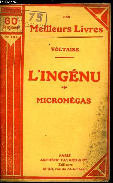L'INGENU - MICROMEGAS