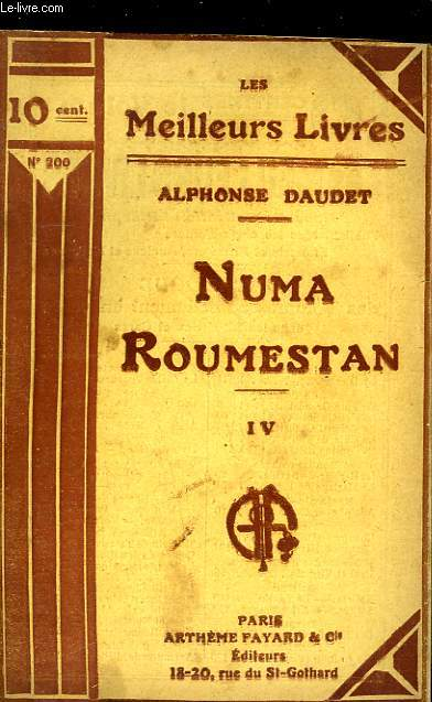 NUMA ROUMESTAN - TOME 4
