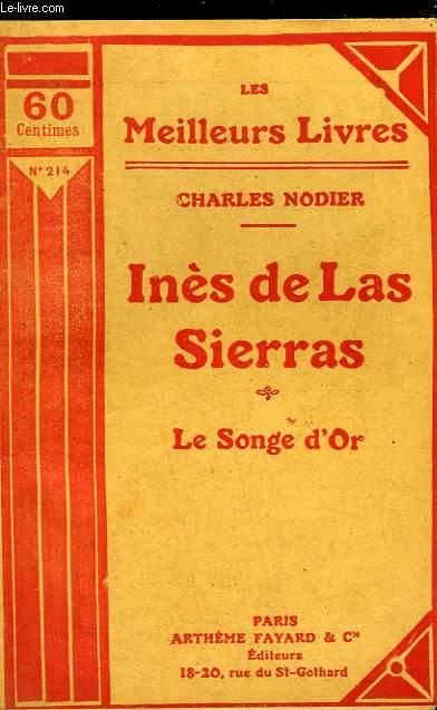 INES DE LAS SIERRAS - LE SONGE D'OR