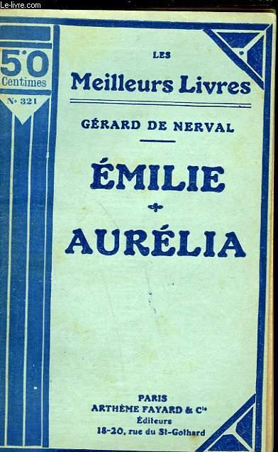 EMILIE SOUVENIRS DE LA REVOLUTION FRANCAISE -  AURELIA