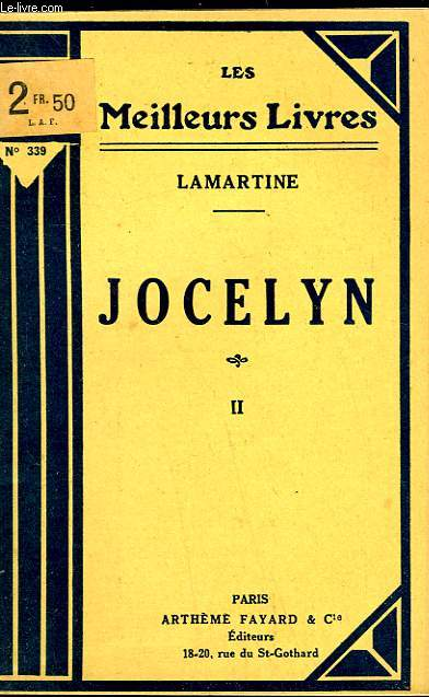 JOCELYN - TOME 2